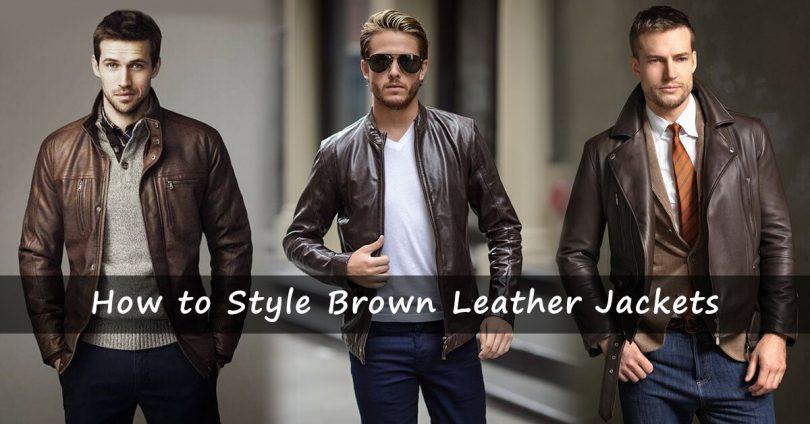 5 Ways to Style a Leather Jacket | Men's Fashion 2019 | Alex